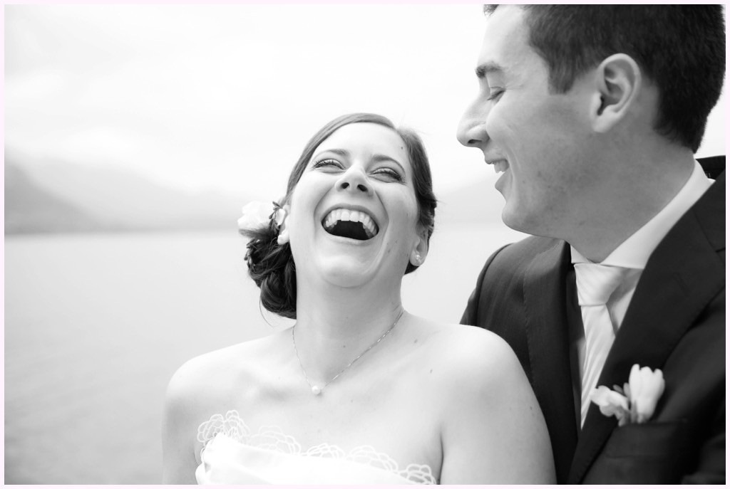 photo couple mariage lac annecy