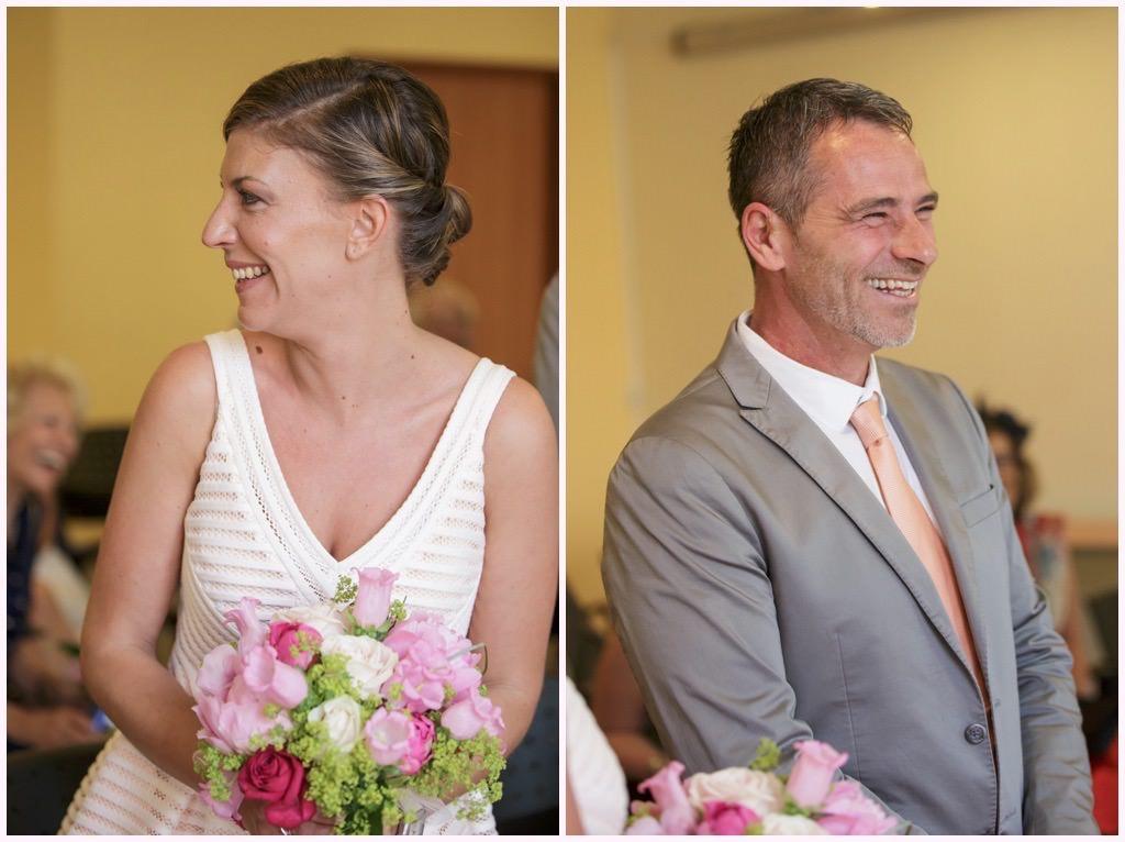 fou rire des mariés cérémonie mariage