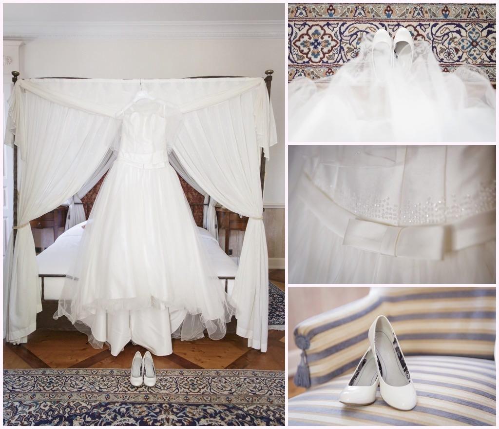 préparatifs mariage comtes de challes robe de mariée