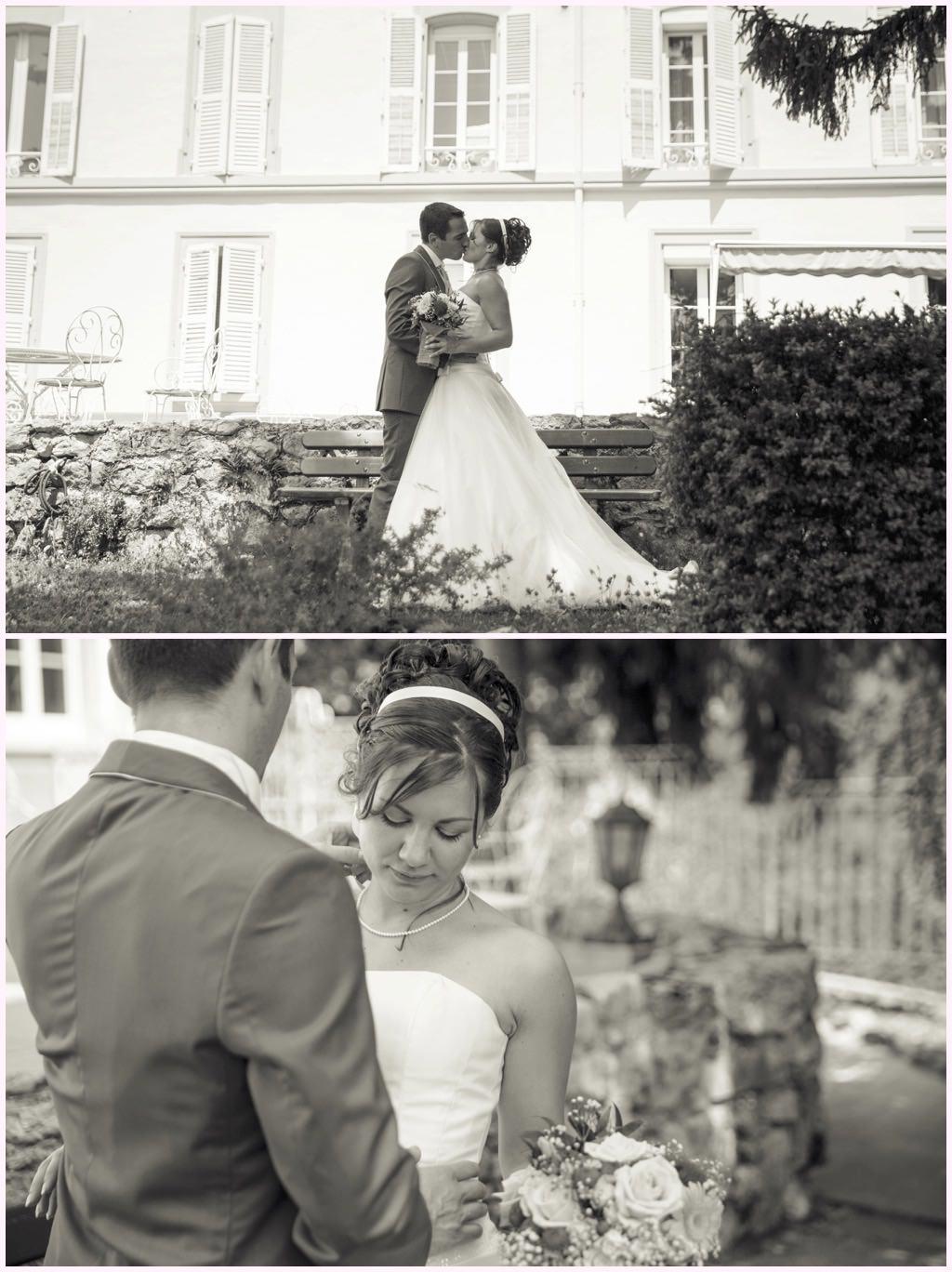 mariage comtes de challes photos de couple dans le parc