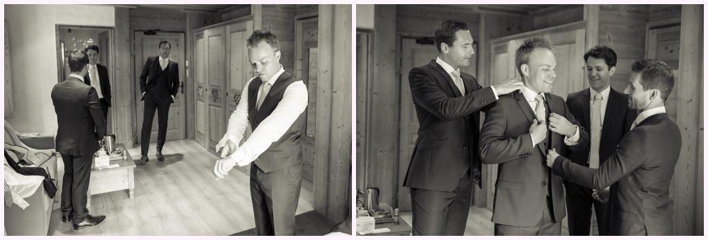 préparatifs cabane des praz mariage chamonix photographe mariage chamonix aurelie allanic photographe