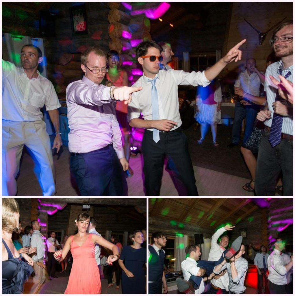 soirée mariage chamonix cabane des praz photographe aurelie allanic