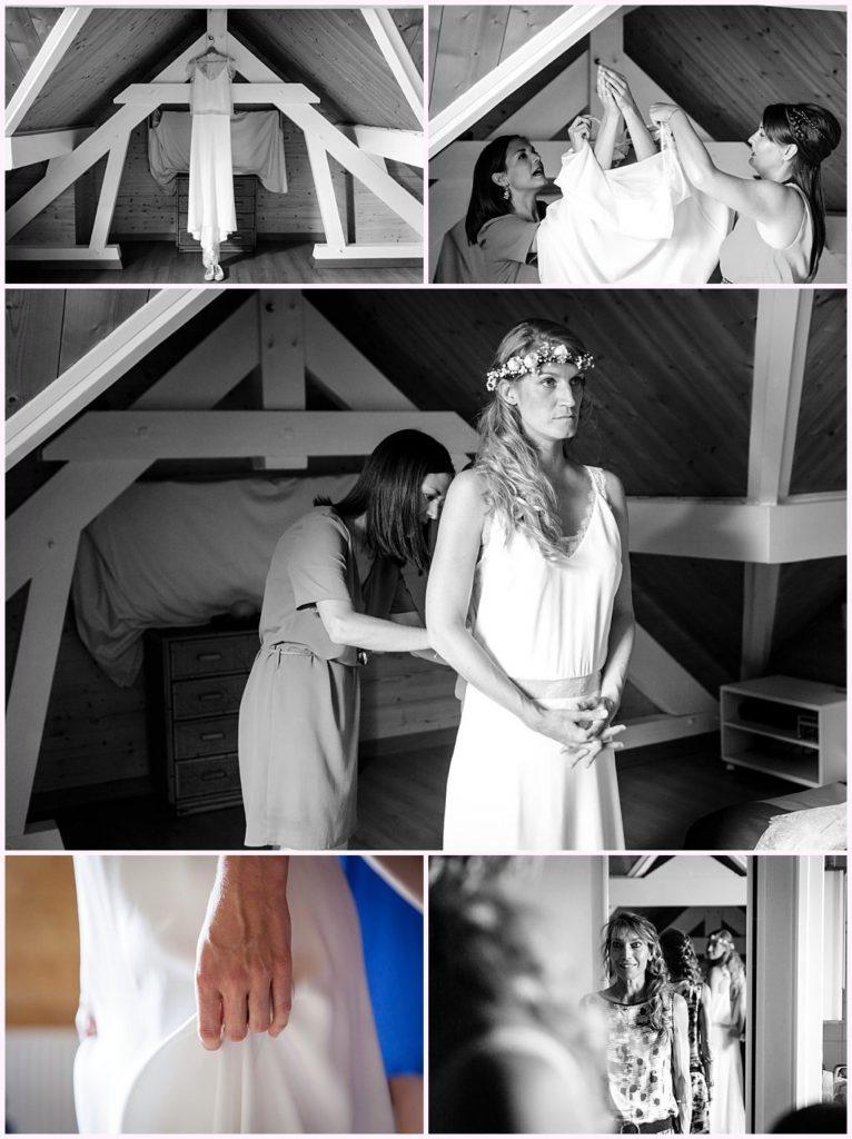 préparatifs mariée photographe mariage chambery