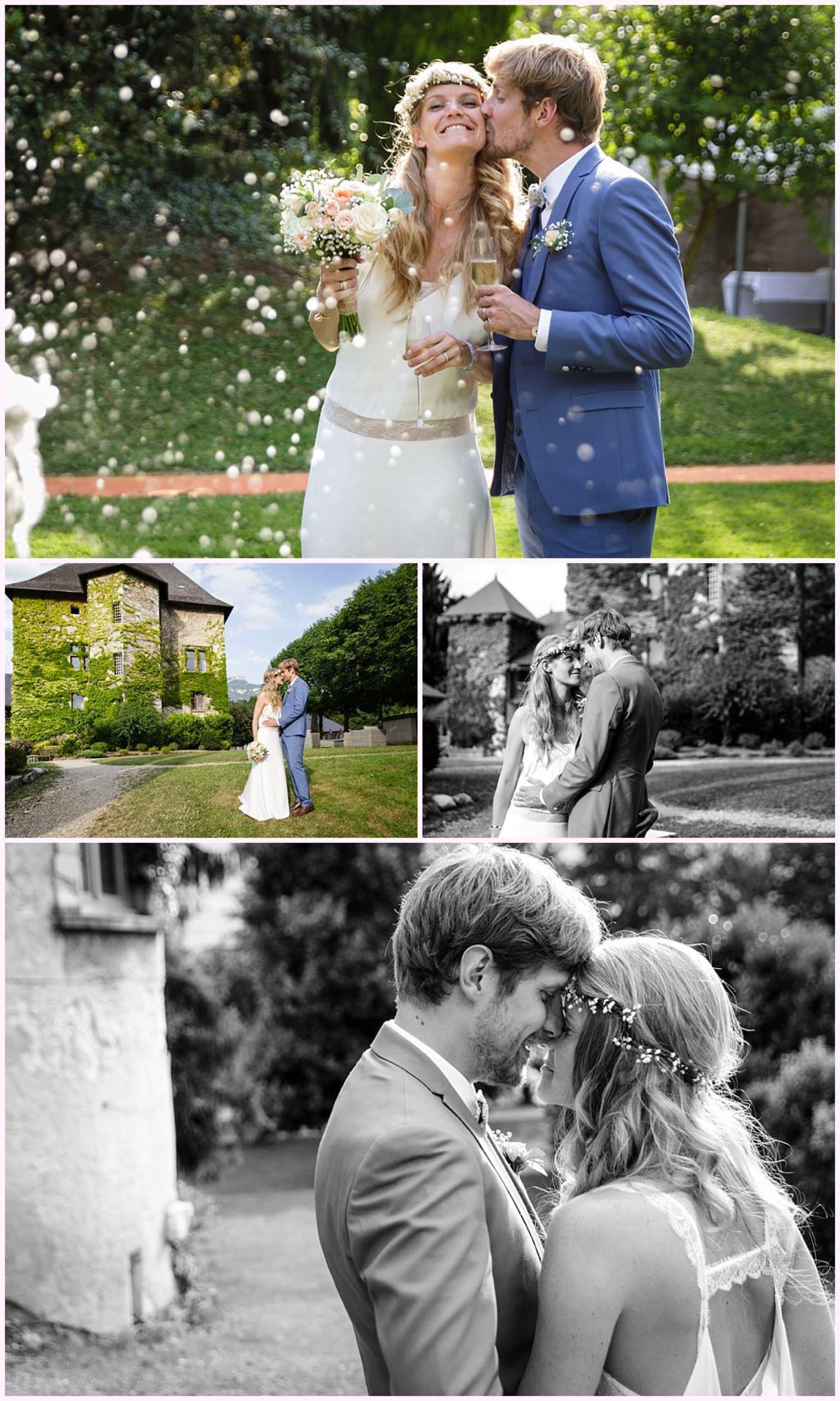 mariage château de candie photographe mariage chambery
