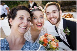 wedding selfie photographe mariage pierres dorées villefranche domaine albert