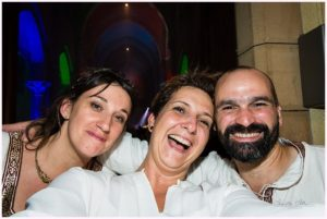 selfie mariage photographe mariage médiéval